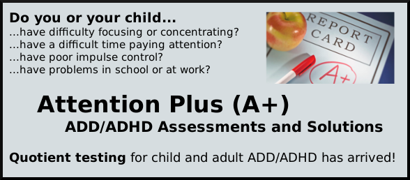 Attention Plus ADD/ADHD Solutions
